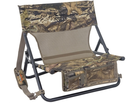 ALPS Outdoorz NWTF Turkey Chair MC Steel Frame Nylon Seat and Back Mossy Oak Break-Up Infinity Camo