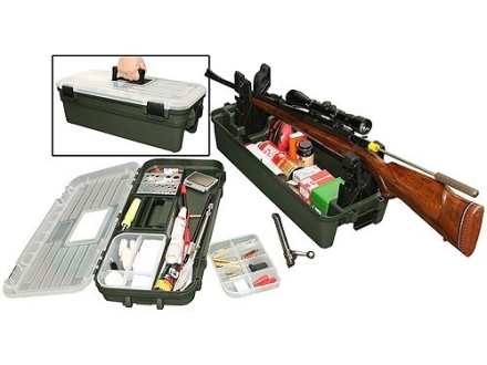 MTM Shooting Range Box Plastic Green