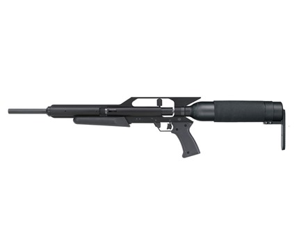 AirForce Talon Air Rifle Synthetic Stock Bull Barrel Matte With Quick DetachAir Tank