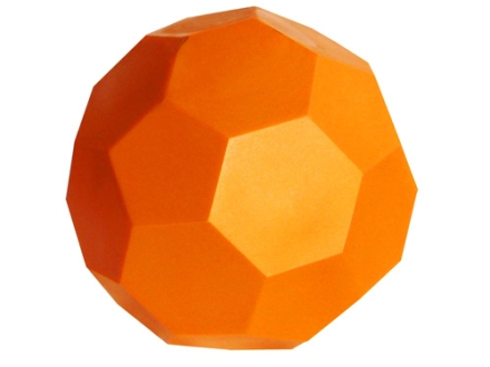 Do-All Impact Seal Ground Bouncing Gun Ball Reactive Target Self Healing Polymer Orange