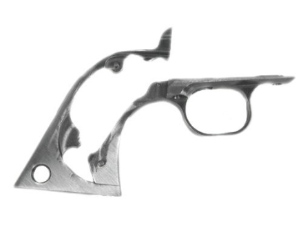 Power Custom Colt-Style Grip Frame Ruger New Model Single Action Steel in the White