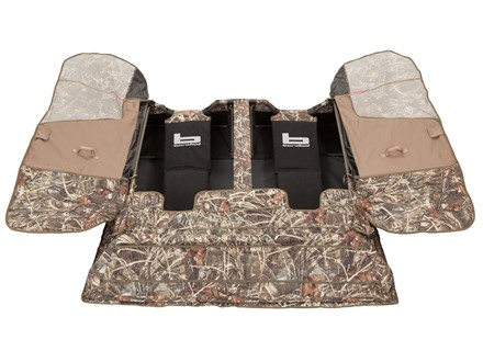 Banded Gear Two-Man Layout Blind Polyester Realtree Max-4 Camo