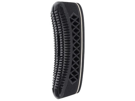 "Pachmayr T660 Triple Magnum Recoil Pad 1.05"" Medium with Pigeon Face Black with White Line"