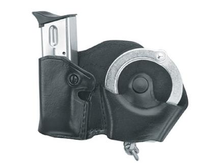 Gould & Goodrich B821 Paddle Hand Cuff and Magazine Carrier Left Hand Glock 17,19, 20, 21, 22, 23, 26, 27, 29, 30, 31, 32, 33, 34, 35, HK USP 9, USP 357, USP 40, USP 45, Para-Ordnance P10, P12, P13,