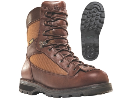 "Danner Elk Ridge GTX 8"" Waterproof 400 Gram Insulated Hunting Boots Leather and Nylon Brown Mens 10.5 EE"