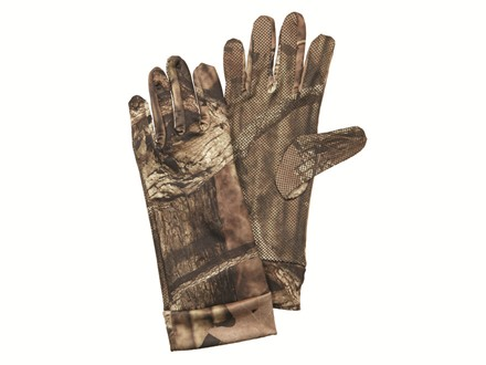 Hunter's Specialties Bite Grip Spandex Gloves Polyester Mossy Oak Break-Up Infinity Camo