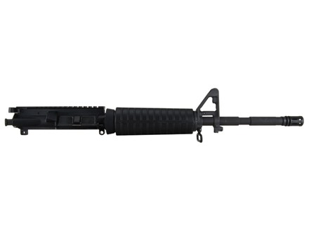 "Tactical Solutions AR-15 A4 Flat-Top Conversion Upper Assembly 22 Long Rifle 1 in 16"" Twist 16"" Barrel Chrome Moly Matte with M4 Handguard, Flash Hider, 25-Round Magazine"