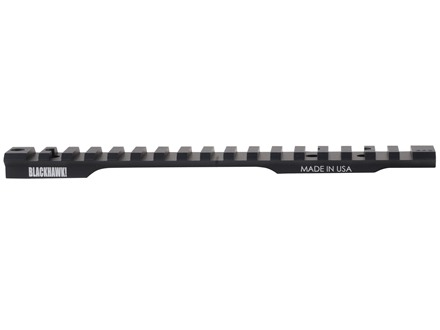 Blackhawk 1-Piece Extended Multi Slot Picatinny-Style 20 MOA Base Remington 700 Long Action Matte