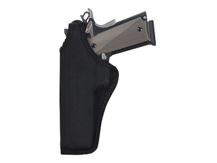 Bianchi 7105 AccuMold Cruiser Holster Left Hand 1911 Government, Browning Hi-Power Nylon Black