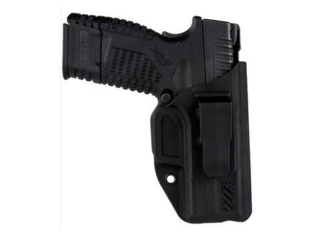 Blade-Tech Klipt Appendix Inside the Waistband Holster Right Hand Glock 26, 27, 33 Polymer Black