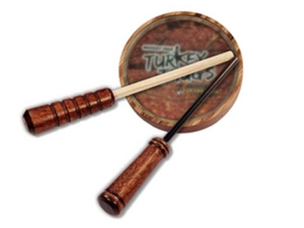 Quaker Boy Turkey Thugs Rim Shot Hardwood Glass Turkey Call