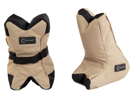 Caldwell AR Tactical DeadShot Front and Rear Shooting Rest Bag Set Nylon Filled