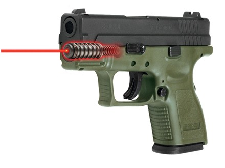 "LaserMax Laser Sight Springfield XD Sub-Compact 3"" 9mm Luger, 40 S&W"