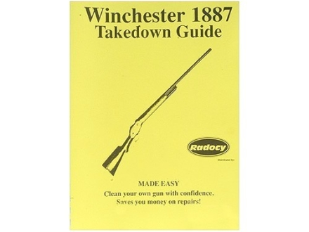 "Radocy Takedown Guide ""Winchester 1887"""