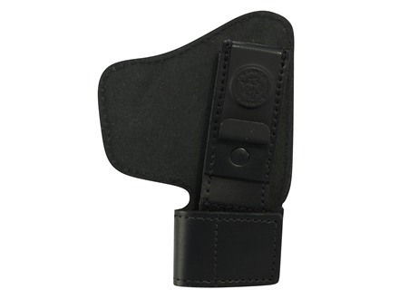 DeSantis Invisible Agent Inside the Waistband Holster with Clip Right Handed Leather Black