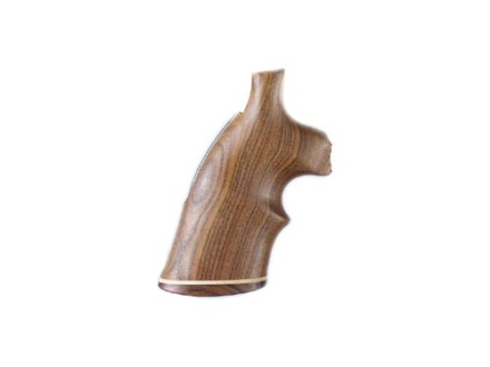 Hogue Fancy Hardwood Grips with Accent Stripe and Top Finger Groove Taurus Medium and Large Frame Revolvers Square Butt