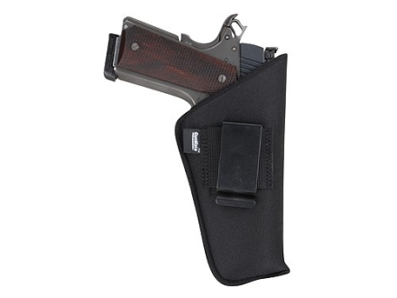 "GunMate Inside the Waistband Holster Ambidextrous Large Frame Semi-Automatic4"" to 5"" Barrel Nylon Black"