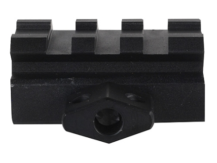 Leapers UTG Low Profile 3-Slot Compact Picatinny-Style Riser Mount AR-15 Flat-Top Matte