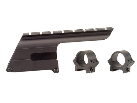 "B-Square Shotgun Saddle Mount with 1"" Rings Browning Gold 12 Gauge and Winchester Super X 2 12 Gauge 3-1/2"" Matte"