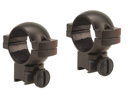 "Barska 1"" Rings 22 Rimfire and Airgun Medium Matte"