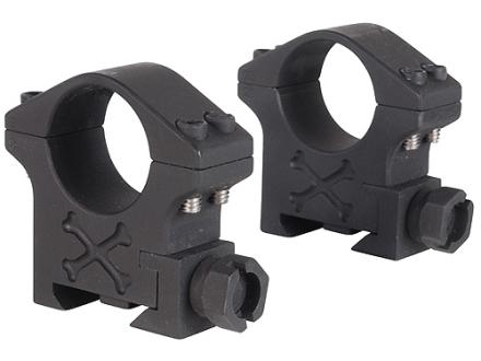 "Talley 1"" Tactical Picatinny-Style Rings Matte Medium"