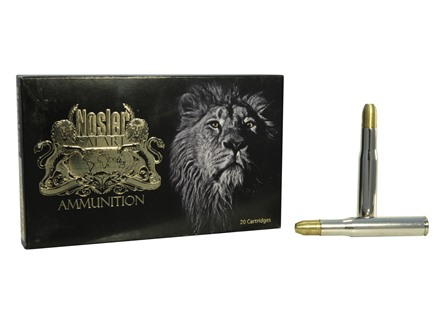 Nosler Safari Ammunition 404 Jeffery 400 Grain Solid Box of 20