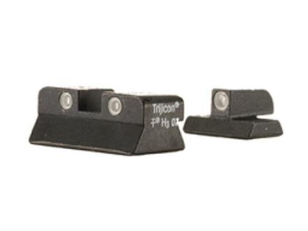 Trijicon Night Sight Set Browning Hi-Power Steel Matte 3-Dot Tritium Green