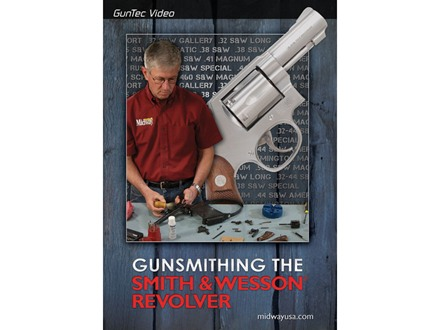 "GunTec Video ""Gunsmithing the Smith & Wesson Revolver"" DVD"