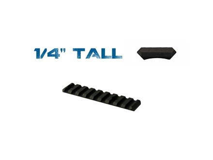 Yankee Hill Machine Picatinny Rail  Fits Yankee Hill Customizable Handguard Aluminum Matte