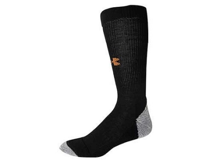 Under Armour Mens ColdGear Outdoor Lite Boot Socks Synthetic Blend