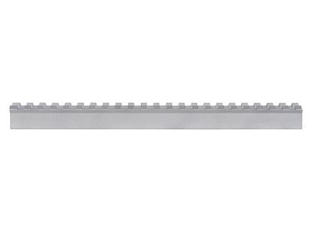 "PRI Gunsmith Picatinny Rail Scope Base Blank 9"" Length Aluminum Silver"