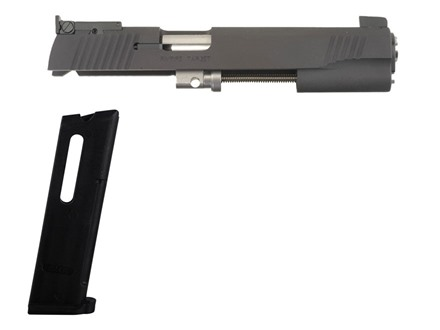 Kimber Rimfire Target Conversion Kit with Adjustable Sights 1911 Government 22 Long Rifle Matte 10-Round Magazine Factory Refurbished
