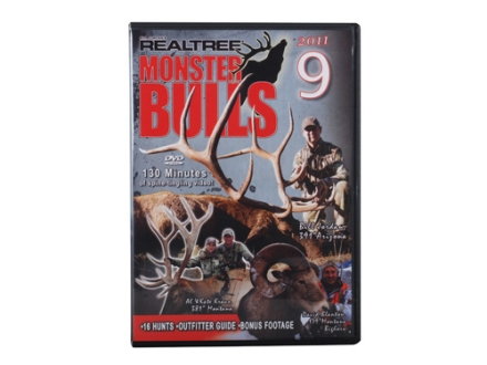 Realtree Monster Bulls 9 Video DVD