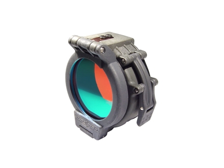 Surefire FM35 Red Flashlight Clamp-Ring Filter