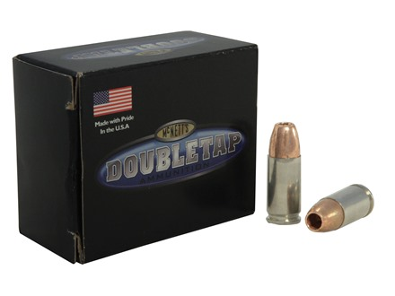 Doubletap Ammunition 9mm Luger +P 115 Grain Barnes TAC-XP Hollow Point Lead-Free Box of 20