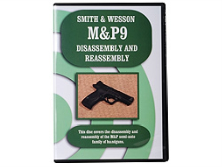 """Smith & Wesson M&P9 Disassembly & Reassembly"" DVD"