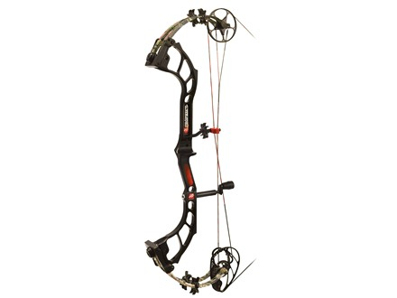 "PSE Prophecy Compound Bow Package Right Hand 50-60 lb 25""-30"" Draw Length Mossy Oak Break Up Infinity Camo"