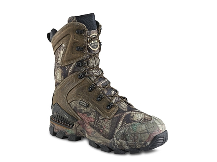 "Irish Setter Deer Tracker 10"" Waterproof Hunting Boots Leather and Nylon Mossy Oak Break-Up Infinity Camo"