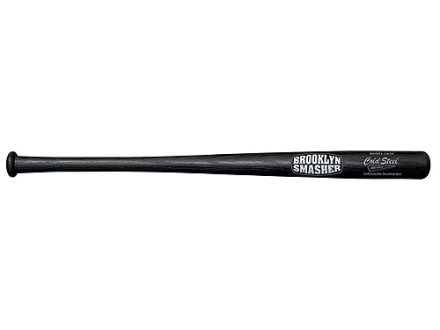 "Cold Steel Brooklyn Smasher Baseball Bat Impact Tool 34"" Polypropylene Black"