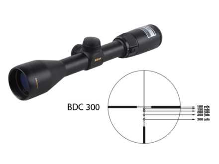 Nikon Inline XR Rifle Scope 3-9x 40mm BDC 300 Reticle Matte