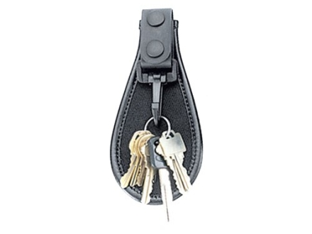 Uncle Mike's Open Key Ring Holder Mirage Nylon Laminate Black