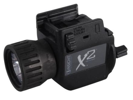 Insight Tech Gear X2 Tactical Illuminations Flashlight  Slide Lock Mount Black