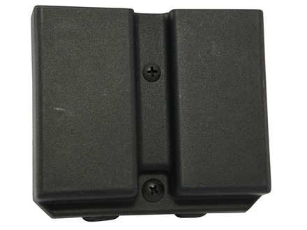 Blade-Tech Injection Molded Double Magazine Pouch 1911 Single Stack Magazines Tek-Lok Polymer Black