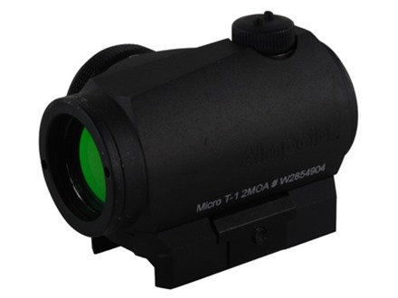 Aimpoint Micro T-1 Tactical Red Dot Sight 2 MOA with Picatinny-Style Mount Matte