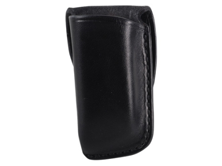 El Paso Saddlery Single Magazine Pouch Double Stack 9mm, 40 S&W Magazine Leather Black