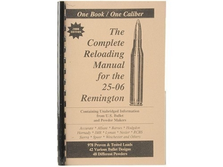 "Loadbooks USA ""25-06 Remington"" Reloading Manual"