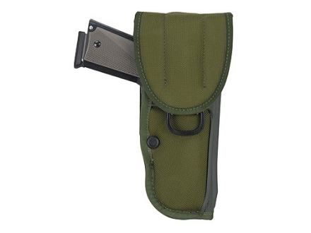 "Bianchi UM84-1 Universal Military Holster Large Frame Semi-Automatic 5"" Barrel Nylon Olive Drab"