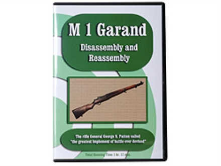 """M1 Garand Disassembly & Reassembly"" DVD"