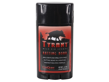 ConQuest Rutting Boar Pig Scent Stick 2.5 oz
