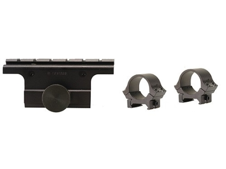 "B-Square Military Weaver-Style Scope Mount with 1"" Rings M1A Matte"